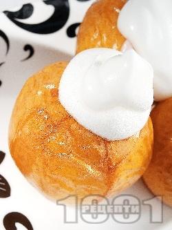 Пълнени ябълки с ягодово сладко - снимка на рецептата